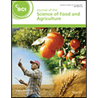 Journal Of The Science Of Food And Agriculture Publons